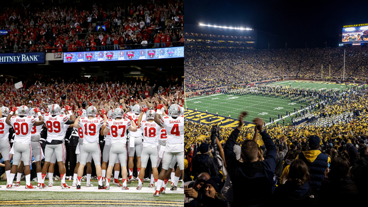 Wolverines cancel Saturday's OSU/Michigan football game due to COVID-19 cases rising