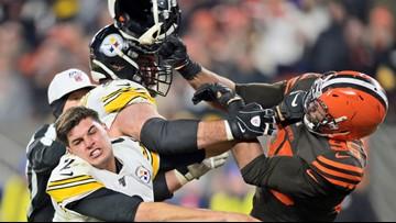 Former Texas A&M star Myles Garrett suspended indefinitely for hitting Steelers QB with helmet