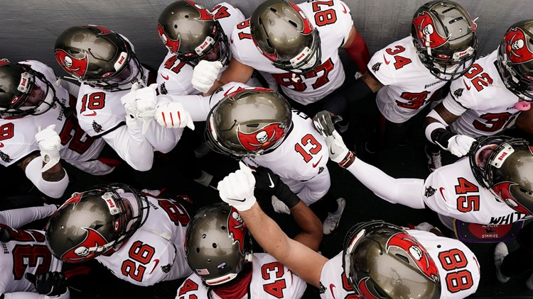 Bucs become first team in NFL history to play in a Super Bowl at their home stadium