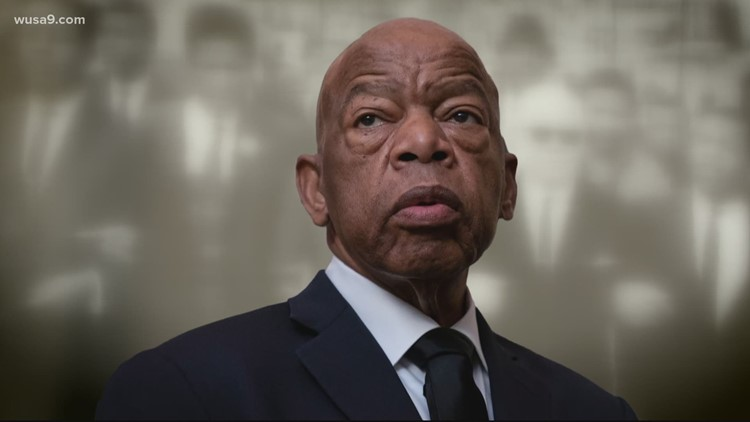 The late Rep. John Lewis will lie in state at the US Capitol