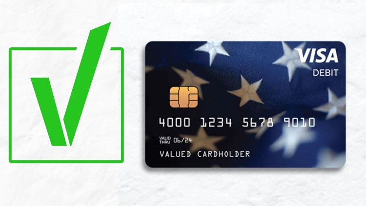 VERIFY: How to make sure your stimulus debit card is real