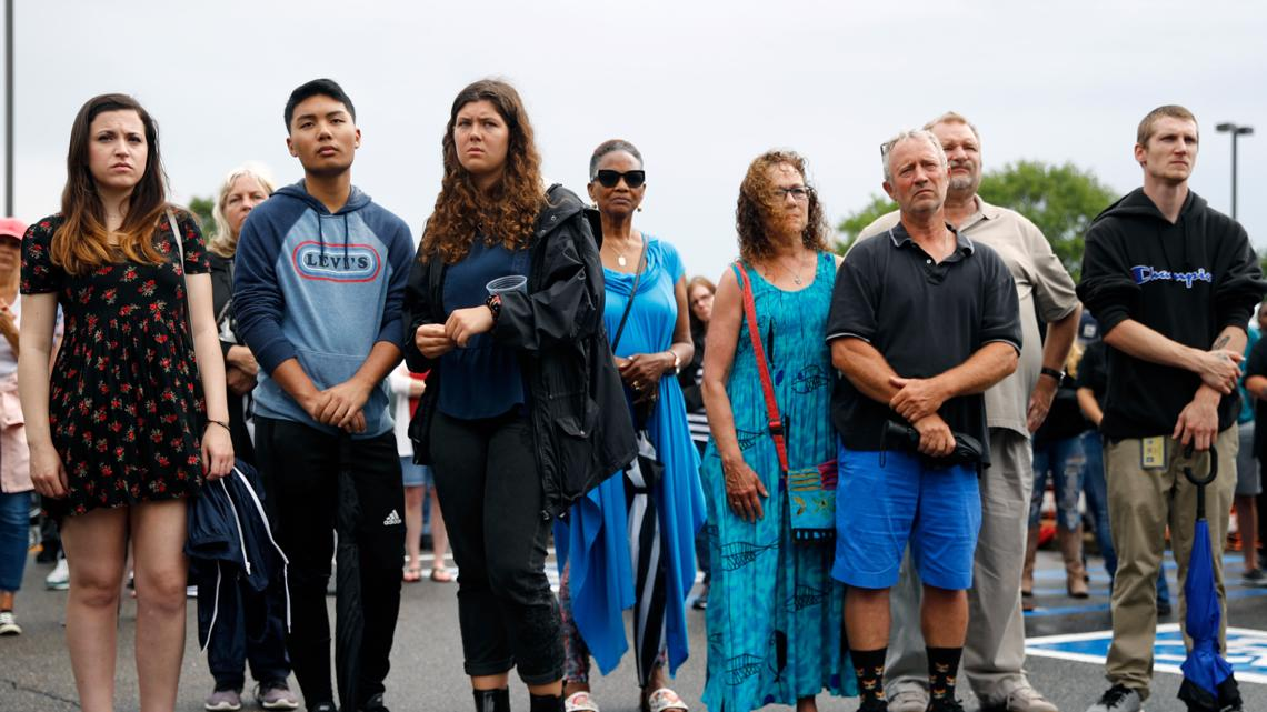 Vigils Begin After Mass Shooting At Virginia Beach